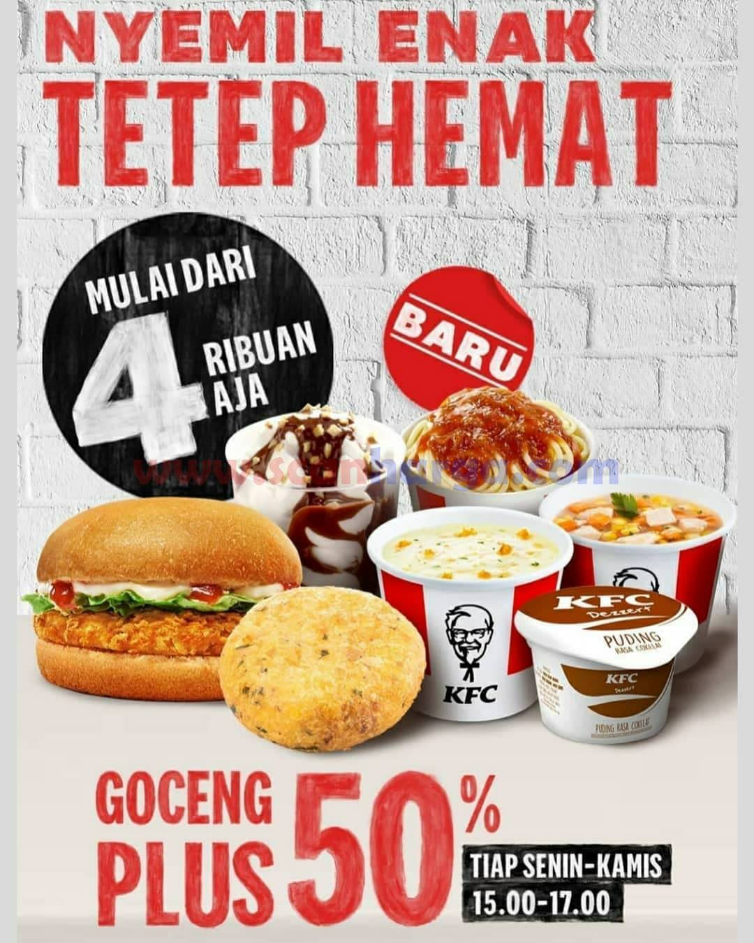 Promo KFC GOCENG HEMATNYA KELAWATAN BANGET!