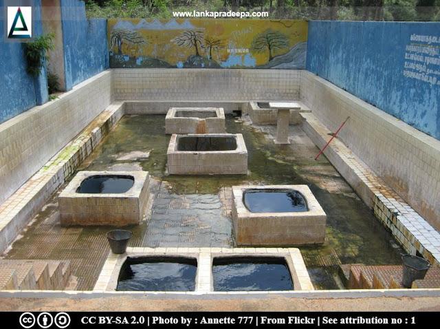 Kanniya hot water wells