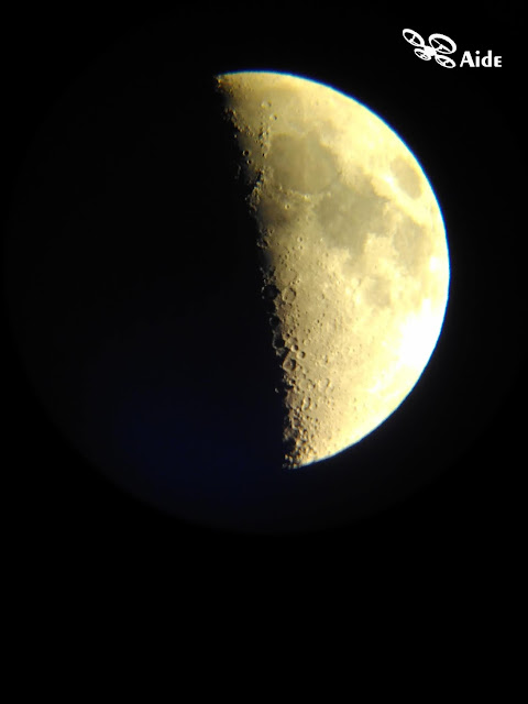 Astrophotography - The Moon | Aide Photography