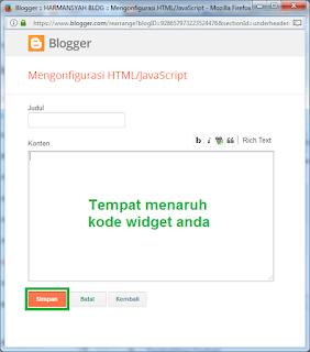 Memasang Lencana Google Plus dengan Mode Script - Blogger