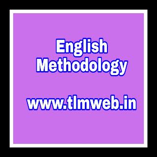 English Methodology Running notes