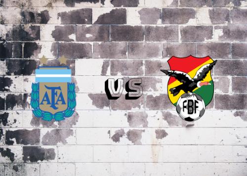 Argentina vs Bolivia  Resumen y Partido Completo