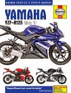 Yamaha YZF R125 Full service maintenance checks