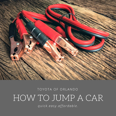 Jump start your car battery