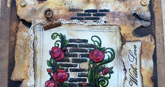 Sweet Dixie Wall Flower by Tracey Fairgrieve