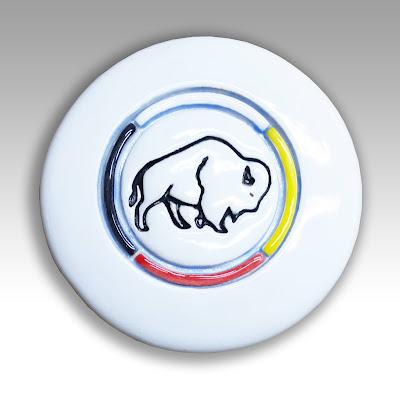 Native American white buffalo symbol