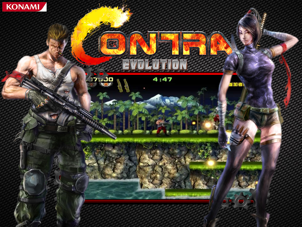 Contra Evolution HD Arcade Dump