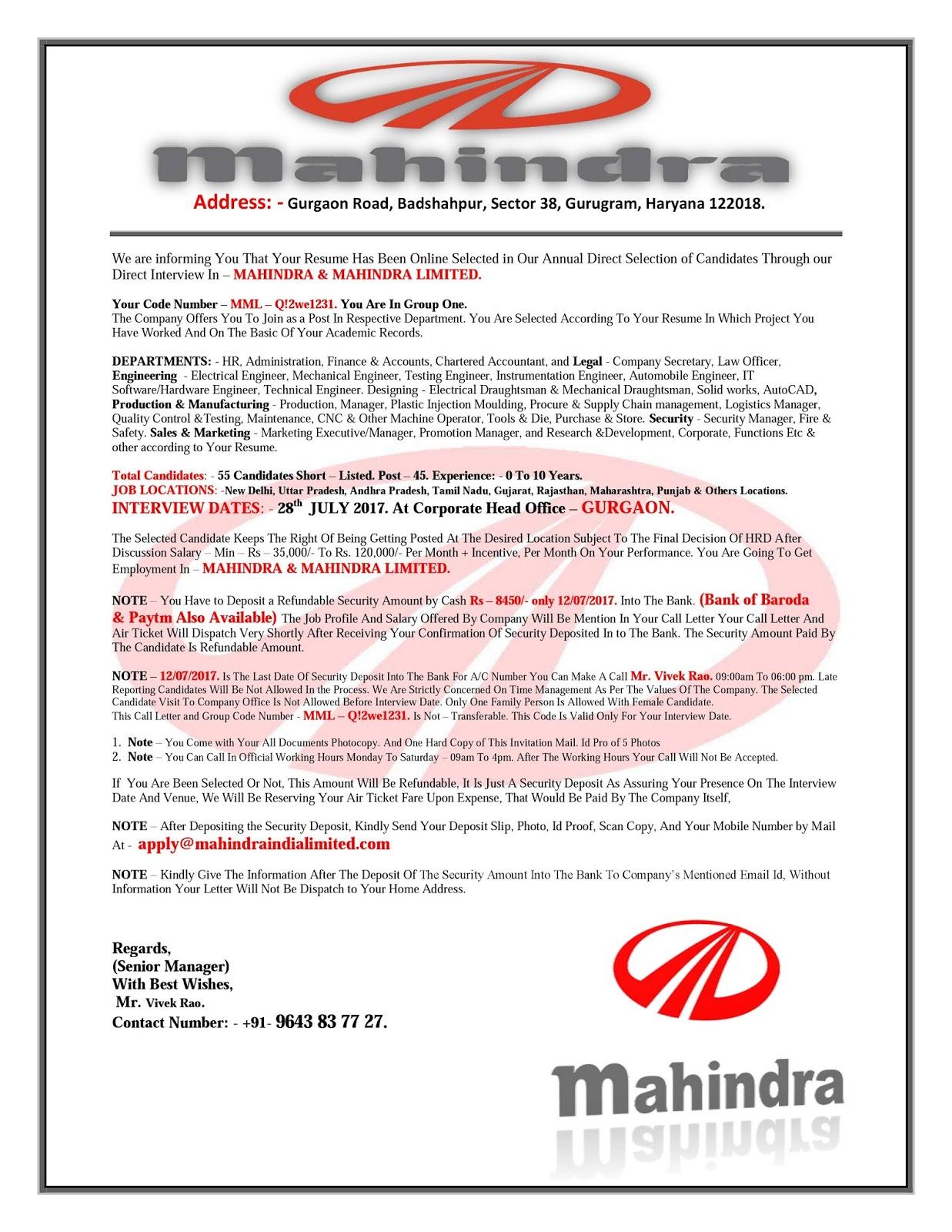 analysis annual report of mahindra and mahindra automobile