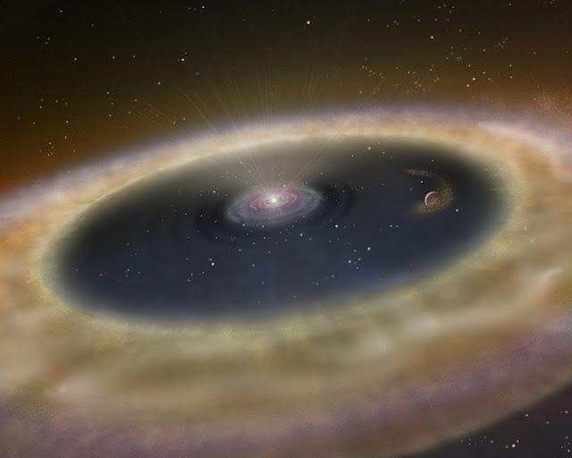 LkCa 15 - exoplaneta em formação