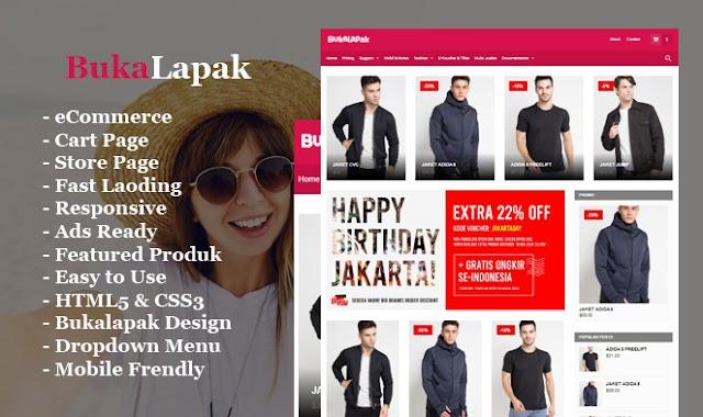 Buka Lapak Blogger Cart