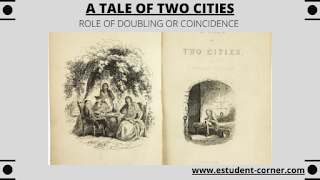 What role does doubling or coincidence play in the novel A Tale of Two cities