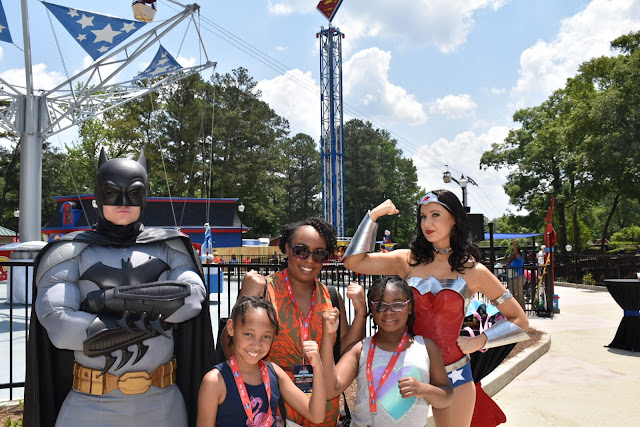 Kick Starting Summer with the DC Super Friends at Six Flags Over Georgia  via  www.productreviewmom.com