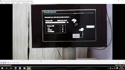 Samsung Smart Led TV Türksat 4A Yeni Kanal Arama Nasil Yaplır