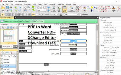 PDF to Word Converter PDF-XChange Editor Download Free