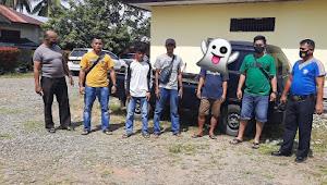Hanya dalam Hitungan Jam, Polsek Linggo Sari Baganti Berhasil Amankan 1 Unit Mobil Hasil Curian