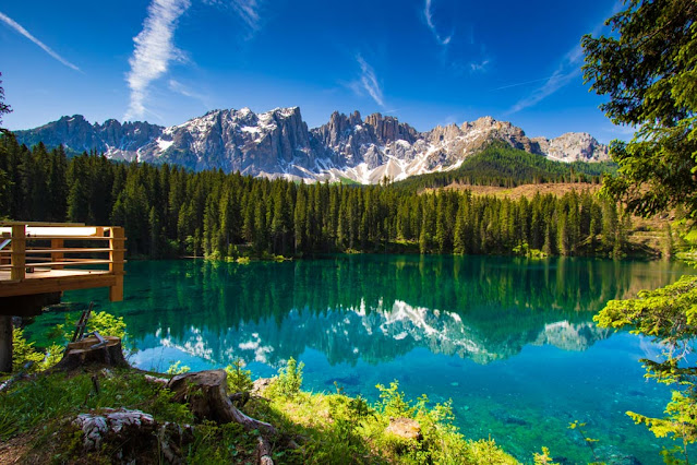 Lago di Carezza e Latemar