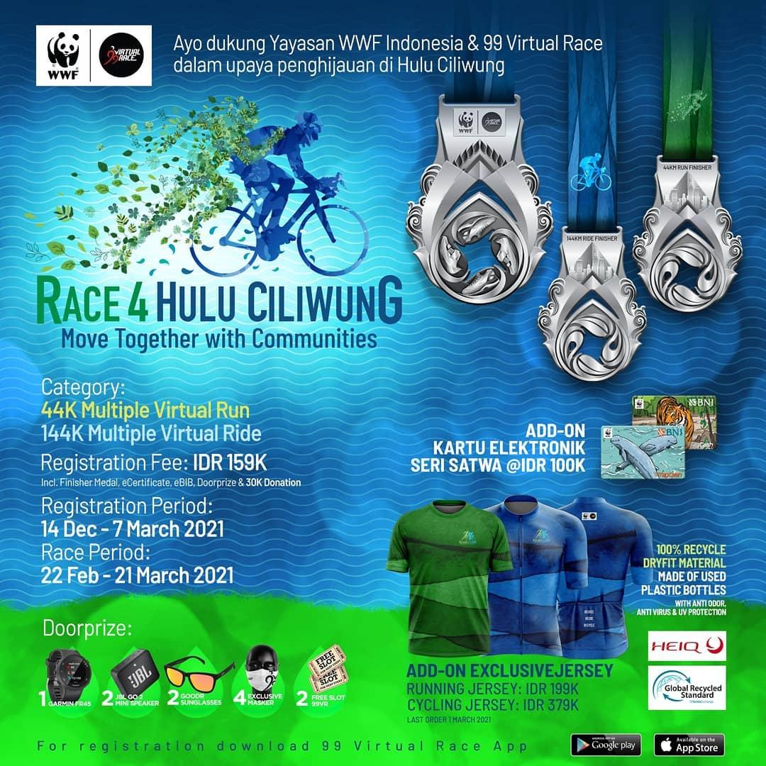 Race 4 Hulu Ciliwung • 2021