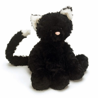 Jellycat Fuddlewuddle Black Kitty