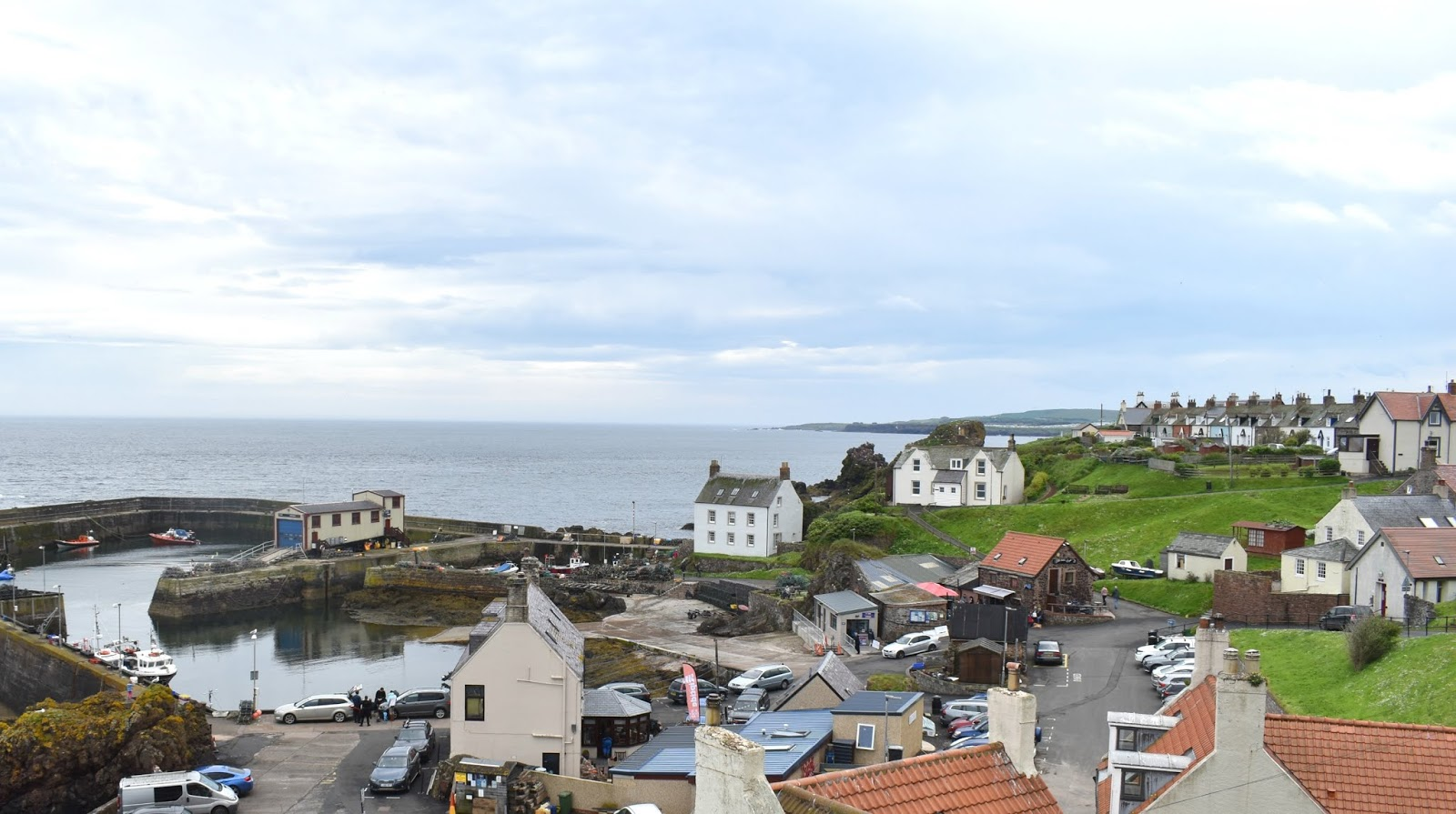 Avengers - Exploring St Abbs and New Asgard