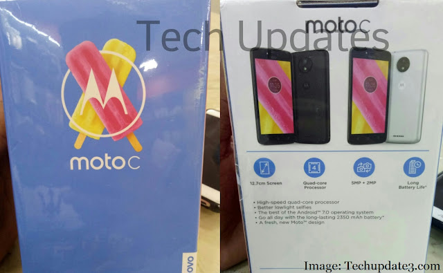 Moto C India launch set for June, will be available at ₹6499