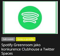 Spotify Greenroom jako konkurence Clubhouse a Twitter Spaces - AzaNoviny