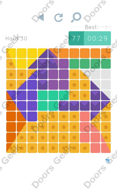 Cheats, Walkthrough for Blocks and Shapes Hard Level 30