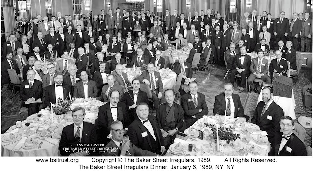 The 1989 BSI Dinner group photo