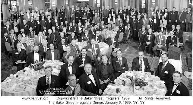 The 1989 BSI Dinner group photo