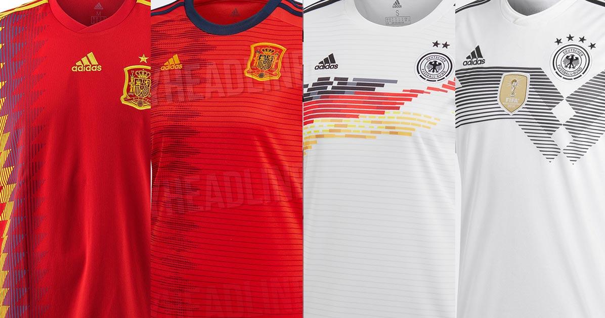Adidas 2018 Men s vs 2019 Women s World Cup Kits - Footy Headlines 7fb8ed21e