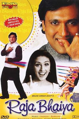 Raja Bhaiya (2003) Hindi 720p   480p HDRip ESub x264 900Mb   350Mb
