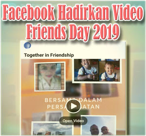 Facebook Video Friends Day 2019