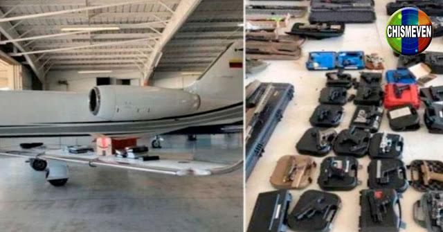 Guaidó descubrió que avión cargado de armas salía siempre desde Rampa 4 de Maiquetía
