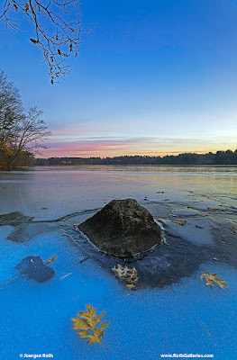 New England Winter photography at Lake Cochituate