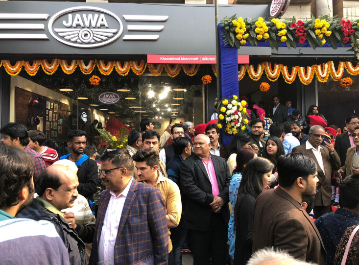 Jawa Motorcycle Delhi showroom Details with Price list