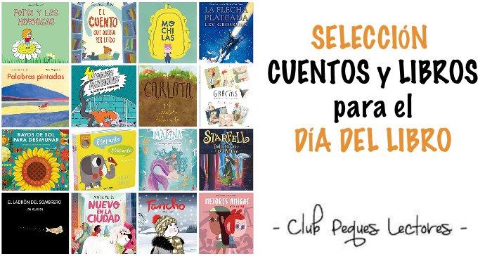 selección cuentos libros recomendados día libro