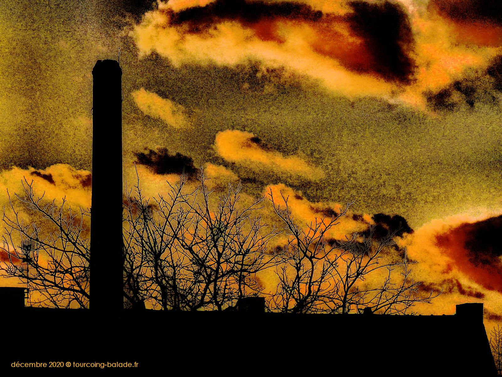 Cheminée industrielle Textile, Tourcoing