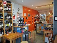 Poitiers - Comiendo en el bar Rocinante