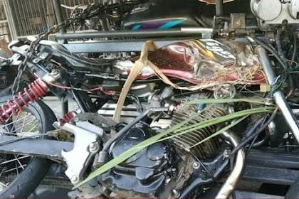 Dua Motor Terlibat Kecelakaan di Blitar, Satu Korban Tewas Seketika