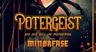Potergeist album presentation, with Minorfase