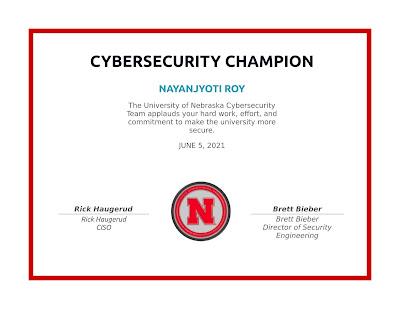University of Nebraska | Security Champion