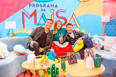 Leo Dias, Maisa e Carlinhos Maia -  Crédito: Gabriel Cardoso/SBT