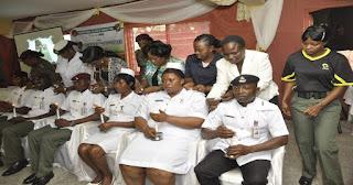 Nigerian army college of nursing students