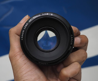 Jual Lensa Canon 50mm ( Lensa Fix Second )