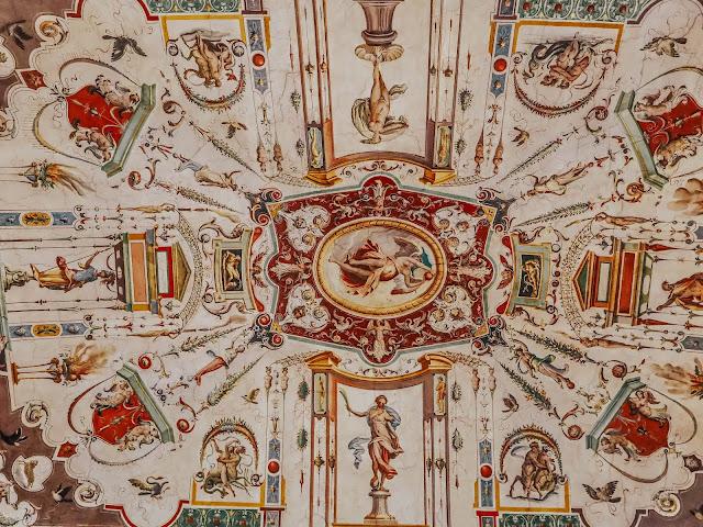 Florence Uffizi Gallery Ceiling