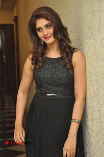 Actress Surabhi Stills in Black Long Dress at turodu Audio Launch  0049.JPG