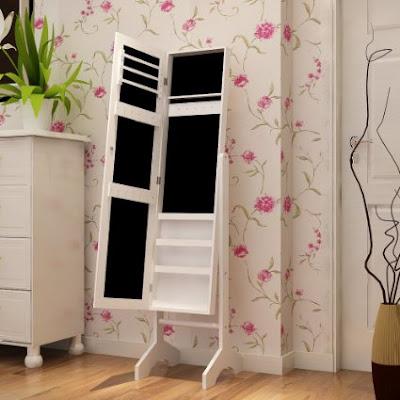 Organización en el dormitorio: Mi espejo joyero
