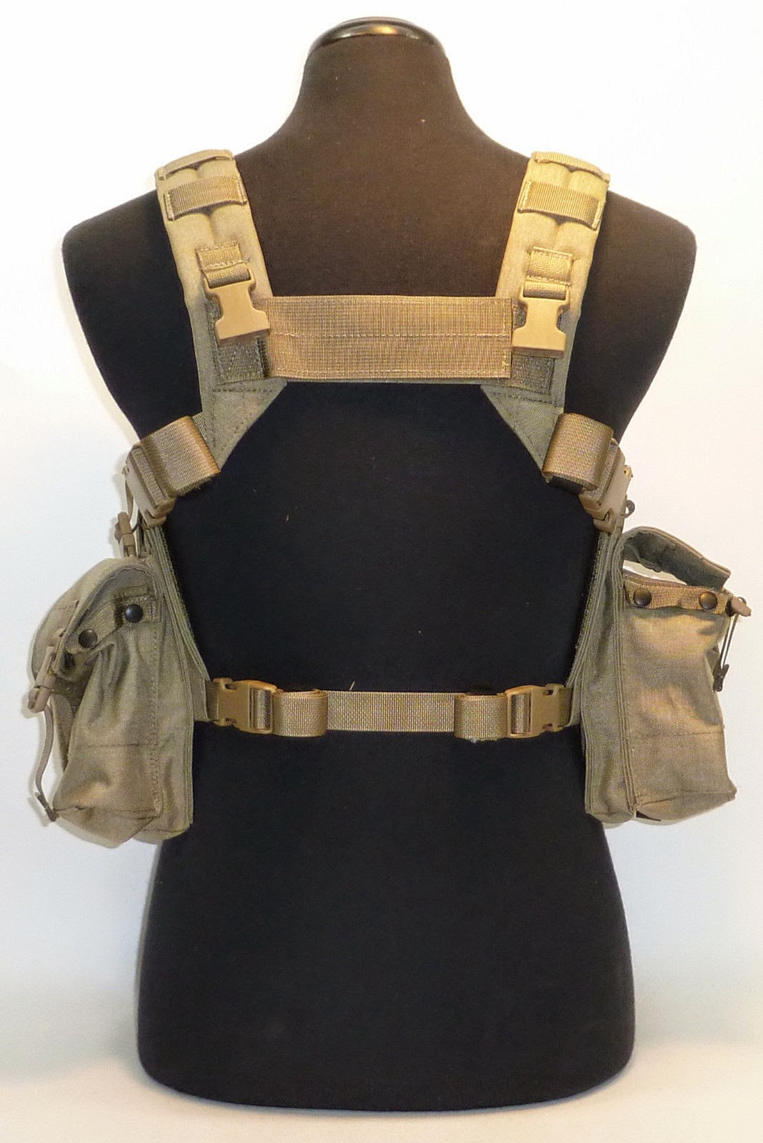 Webbingbabel Lbt 1961g Load Bearing Chest Rig W Zipper