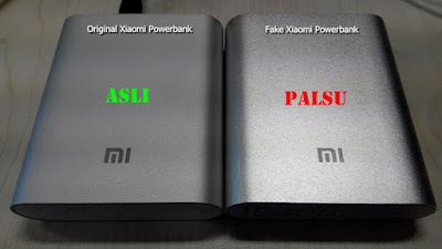 Tips: Membedakan Power Bank Xiaomi Asli dan Palsu !