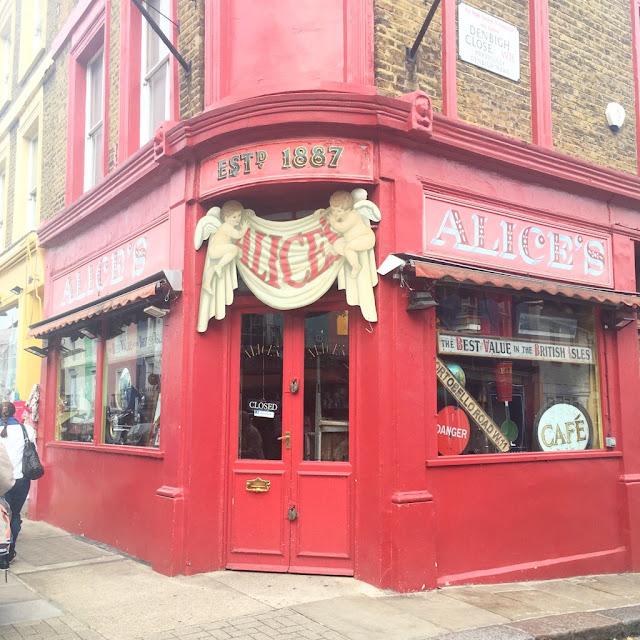 Alice's Portobello Road, London