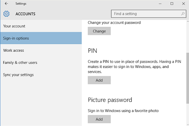 Recover Lost Password Windows 10